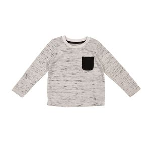 Young Original Toddler Long Sleeve Space Dye Tee