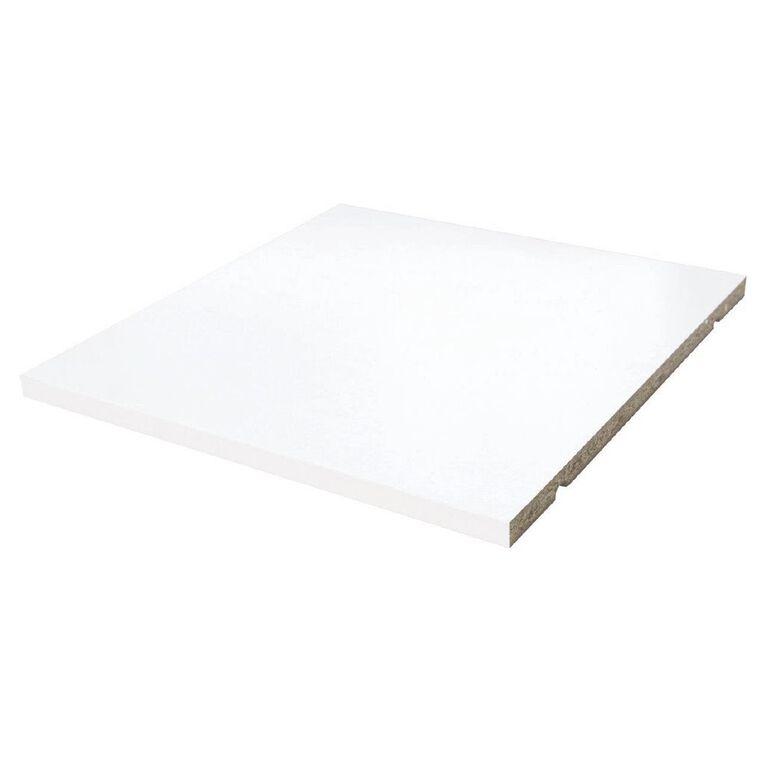 Living & Co Valencia Cube Storage Shelf Insert White, , hi-res