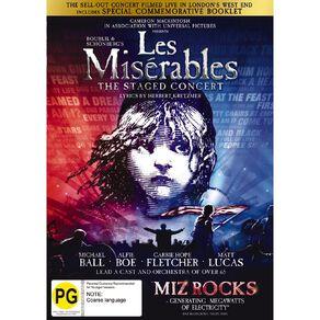 Les Miserables Live 2019 DVD 1Disc