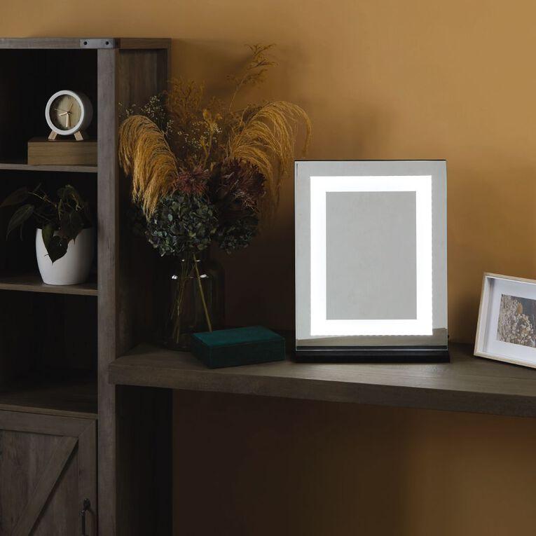 Living & Co Hollywood Mirror Black 40cm x 50cm, , hi-res