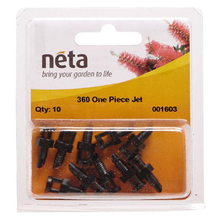 Neta Micro Irrigation One Piece Spray Jet 360 Degree 10 Pack 13mm, , hi-res