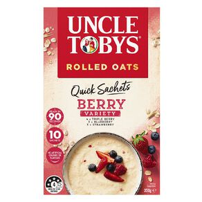 Uncle Tobys Quick Oats Berry Variety 350g
