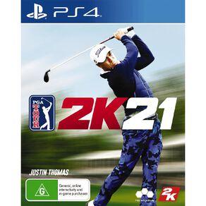 PS4 PGA 2K21