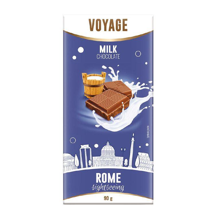 Voyage Milk Chocolate 90g, , hi-res