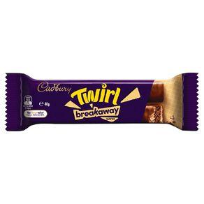 Cadbury Twirl Breakaway Bar 40g