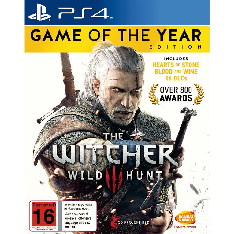 PS4 The Witcher 3 Game of The Year, , hi-res