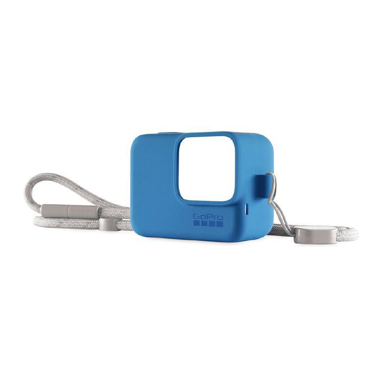 GoPro Sleeve And Lanyard Blue, , hi-res