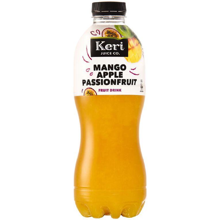 Keri Grab & Go Mango Apple & Passionfruit 1L 1L, , hi-res