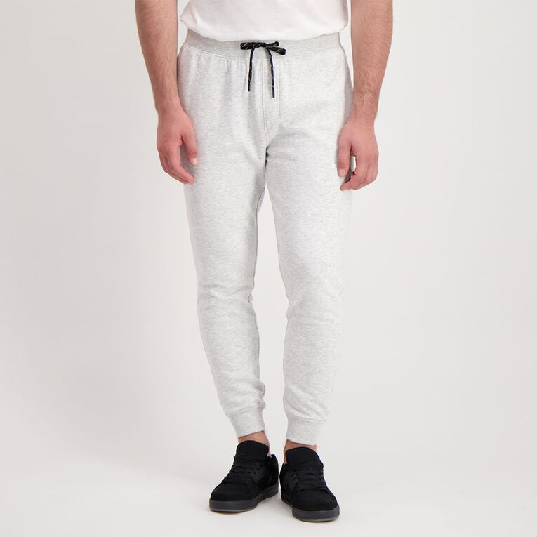 H&H Men's Jogger Trackpants, White MARLE, hi-res