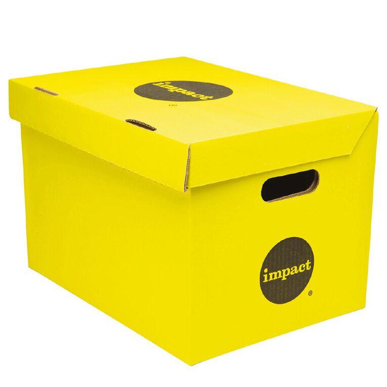 Impact Archive Box Yellow, , hi-res