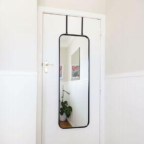Living & Co Overdoor Versatile Mirror 40X120CM Black