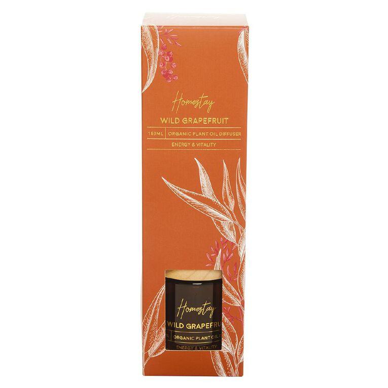 Living & Co Homestay Diffuser Wild Grapefruit Brown 150ml, Brown, hi-res