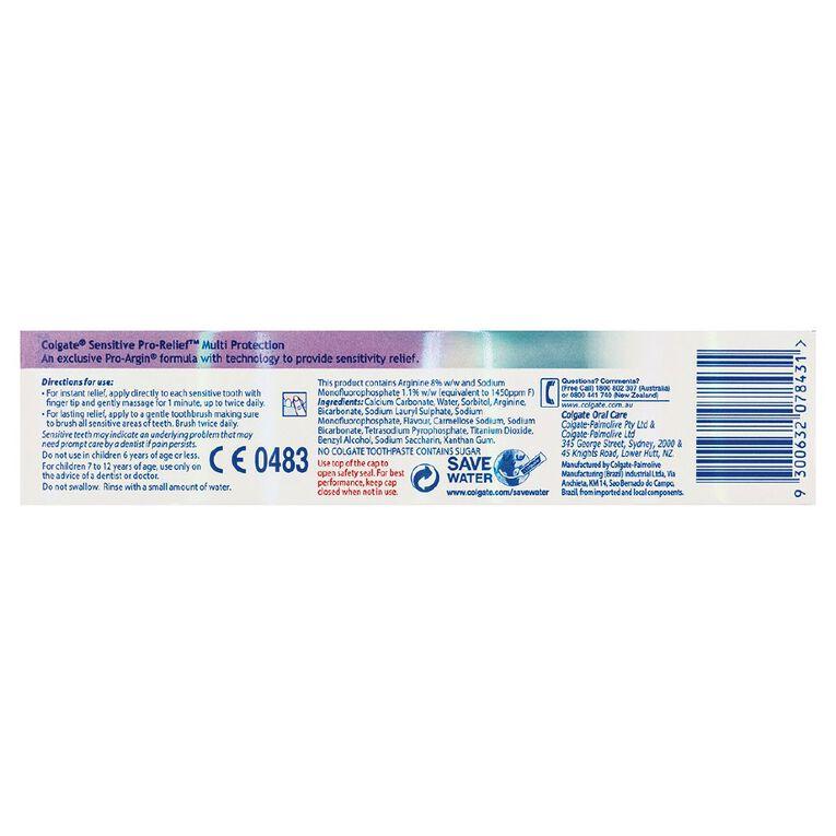Colgate Sensitive Pro-Relief Toothpaste Multi-Protection 110g, , hi-res