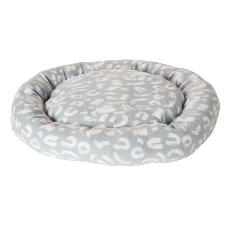 Petzone Fleece Round Bed Abstract, , hi-res