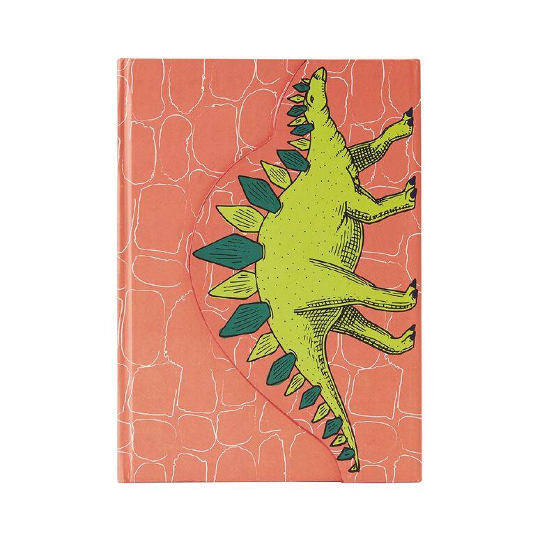 Kookie Chomp Magnetic Closure Notebook Orange A5, , hi-res