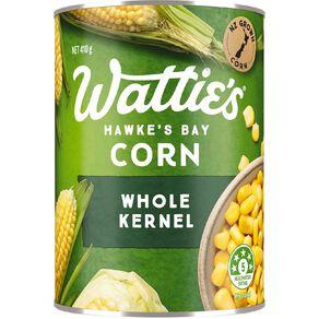 Wattie's Whole Corn Kernels 410g