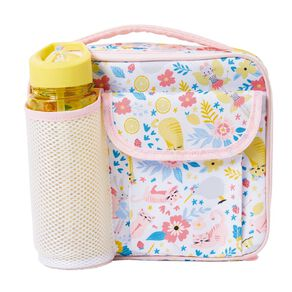 Living & Co Lunch Bag and Drink Bottle Set Cat One Size