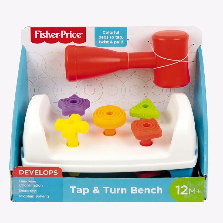 Fisher-Price Tap & Turn Bench Assorted, , hi-res