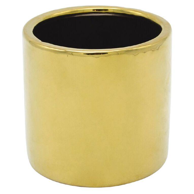 Kiwi Garden Brass Pot 12cm, , hi-res
