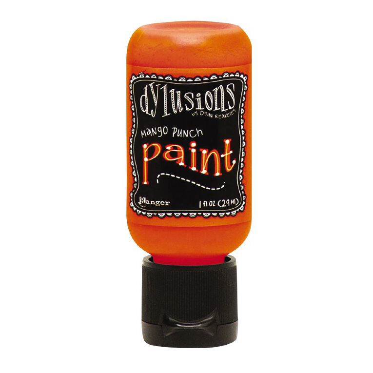 Ranger Dylusions Paint 1oz Mango Punch, , hi-res image number null