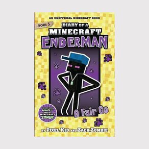Minecraft Enderman #3 A Fair Go by Zack Zombie