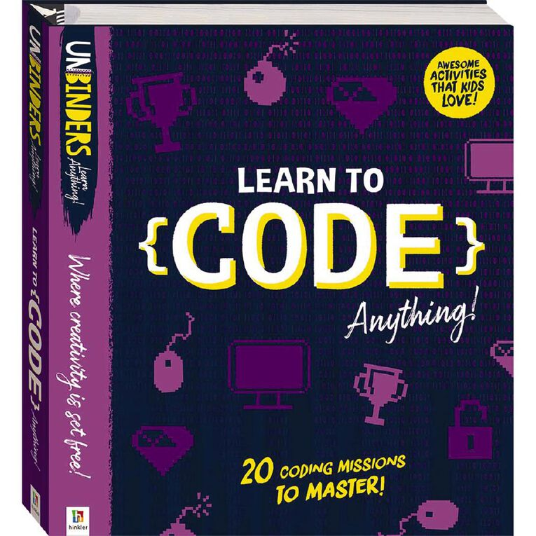 Unbinders: Learn how to Code Anything, , hi-res