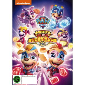 Paw Patrol Mighty Pups Super Paws DVD 1Disc