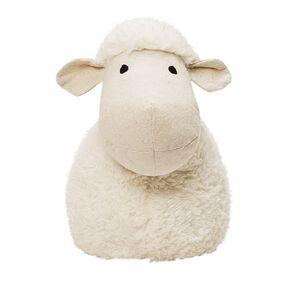 Living & Co Sheep Door Stop Cream