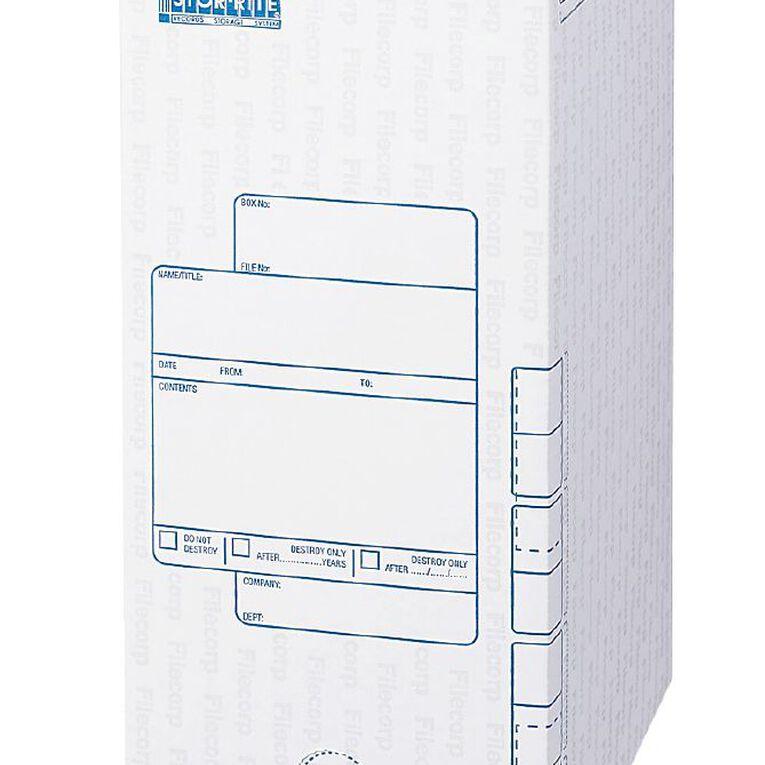 Filecorp Storerite Open End Storage Box White, , hi-res