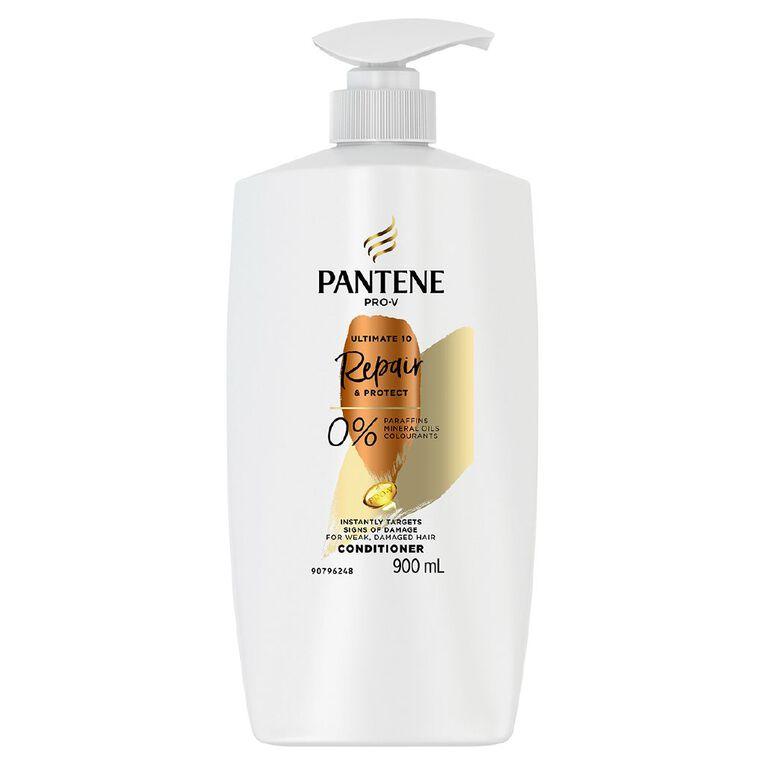 Pantene Ultimate 10 Repair & Protect Conditioner 900ml, , hi-res