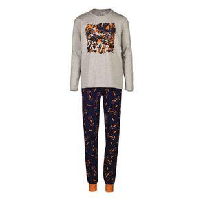 H&H Boy's Long Sleeves Pyjamas