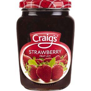Craig's Strawberry Jam 375g