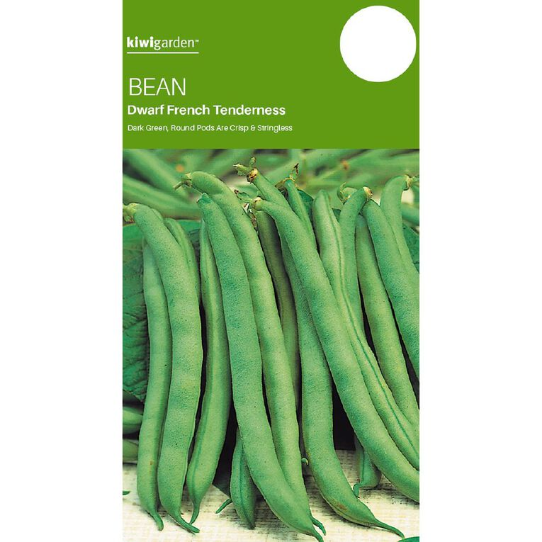 Kiwi Garden Bean Tenderness Dwarf French, , hi-res