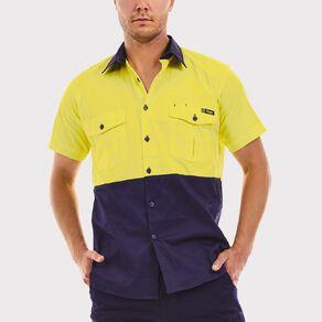 Tradie Hi Vis Short Sleeve Work Shirt