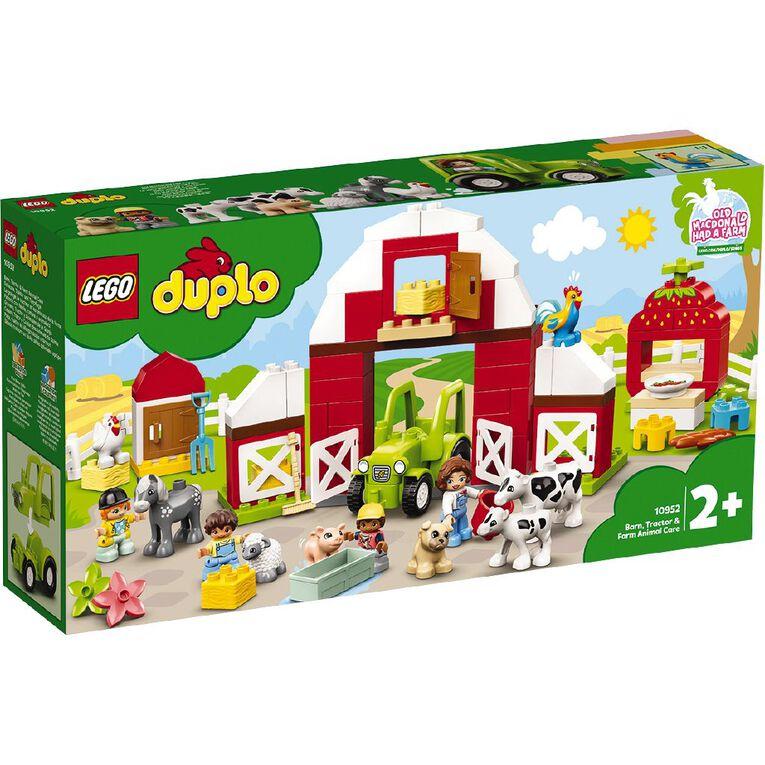 LEGO DUPLO Barn Tractor & Farm Animal Care 10952, , hi-res