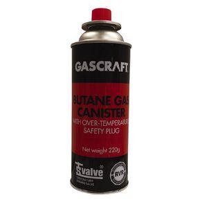 Gascraft Butane 1 Pack 220g
