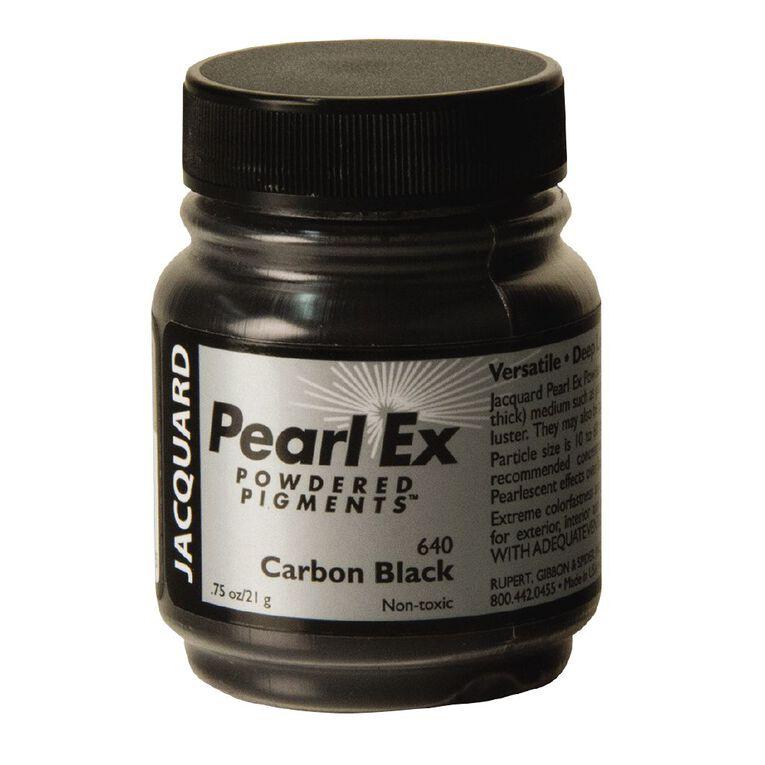 Jacquard Pearl Ex 21.26g Carbon Black, , hi-res