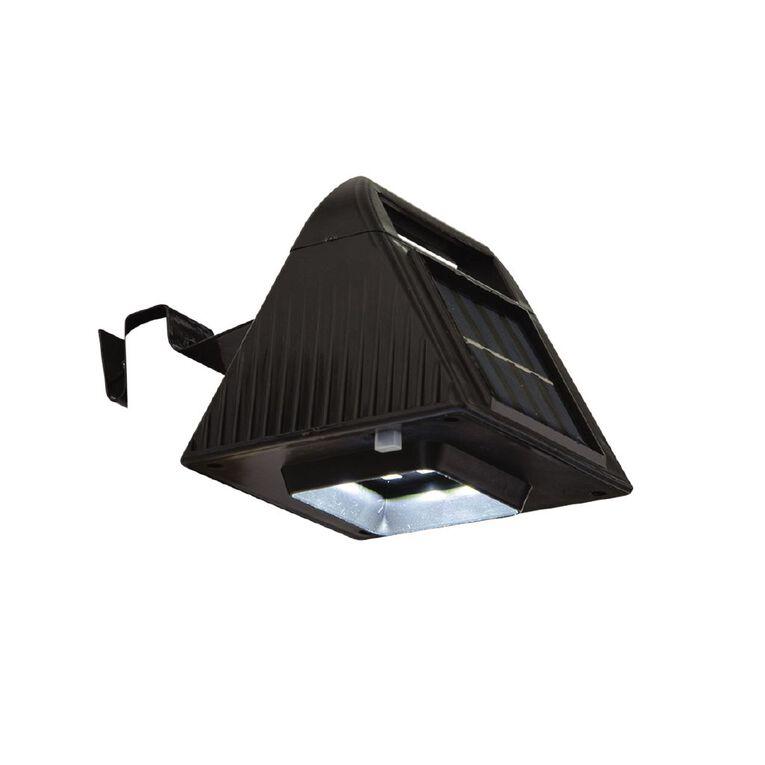 Kiwi Garden Solar Gutter Light Black 2 Pack, , hi-res