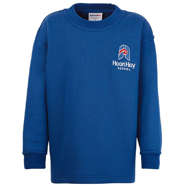 Schooltex Hoon Hay Crew Neck Tunic with Embroidery, Royal, hi-res