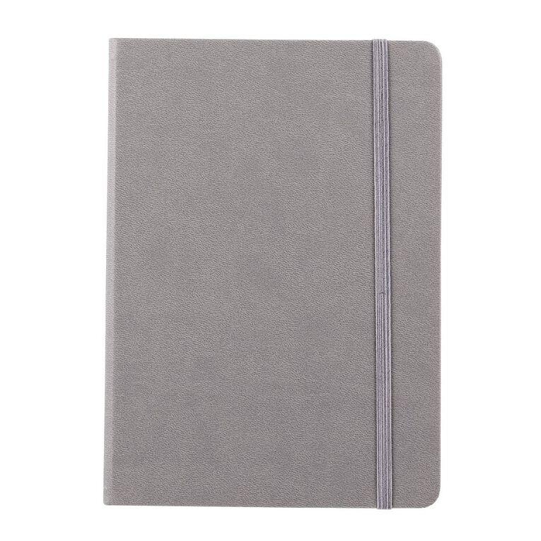 WS Hardcover PU Notebook Grey A5, , hi-res