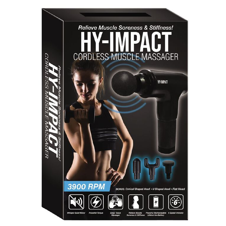 As Seen On TV HY Impact Muscle Massager, , hi-res