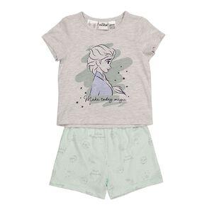 Frozen Discovery Kids Girls Short Sleeves Pyjama Set