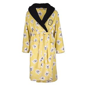Disney Winnie The Pooh Women's Sherpa Hooded Robe