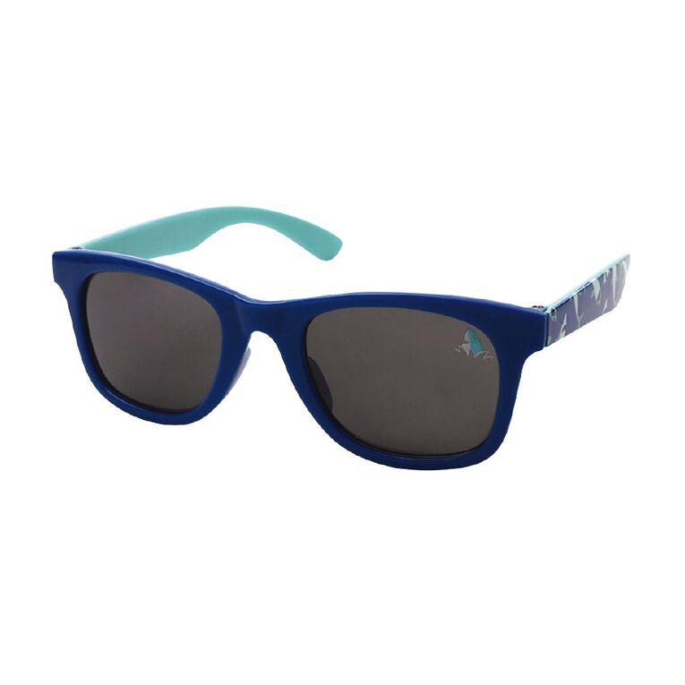Kids Shark Sunglasses, Blue, hi-res