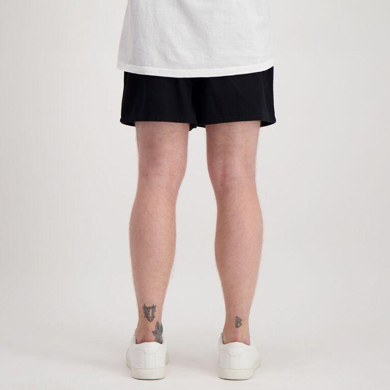 H&H Rugger Shorts, Black, hi-res