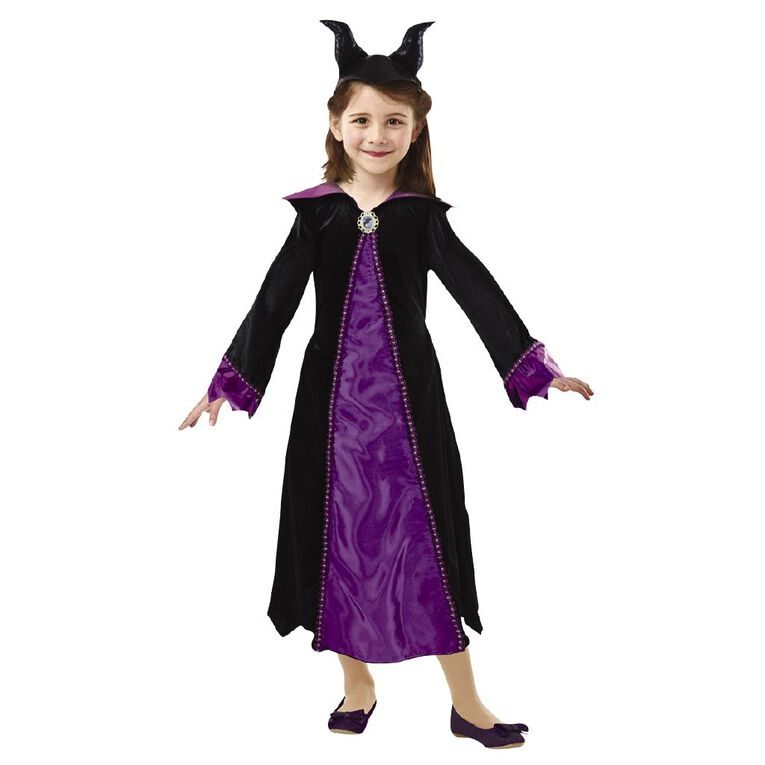 Maleficent Disney Deluxe Costume 6-8 Years, , hi-res image number null