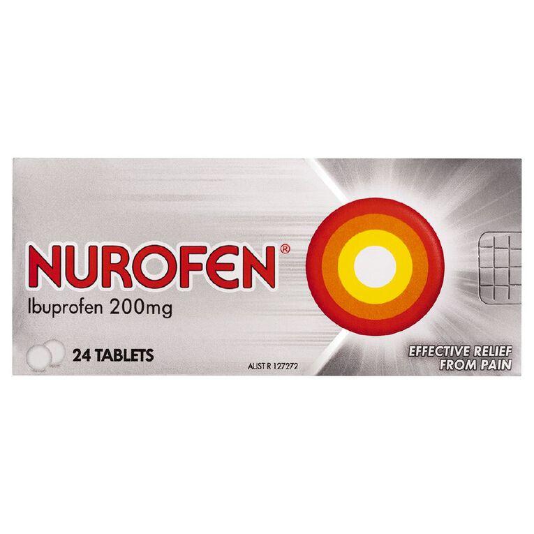 Nurofen Tablets 24s, , hi-res