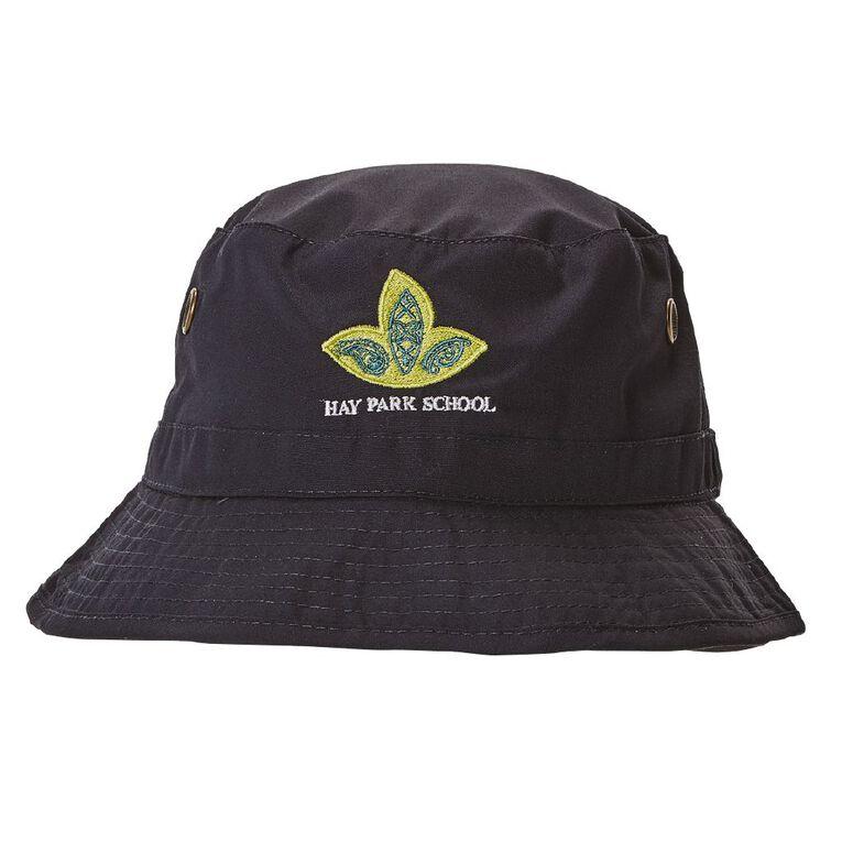 Schooltex Hay Park School Bucket Hat with Embroidery, Navy, hi-res