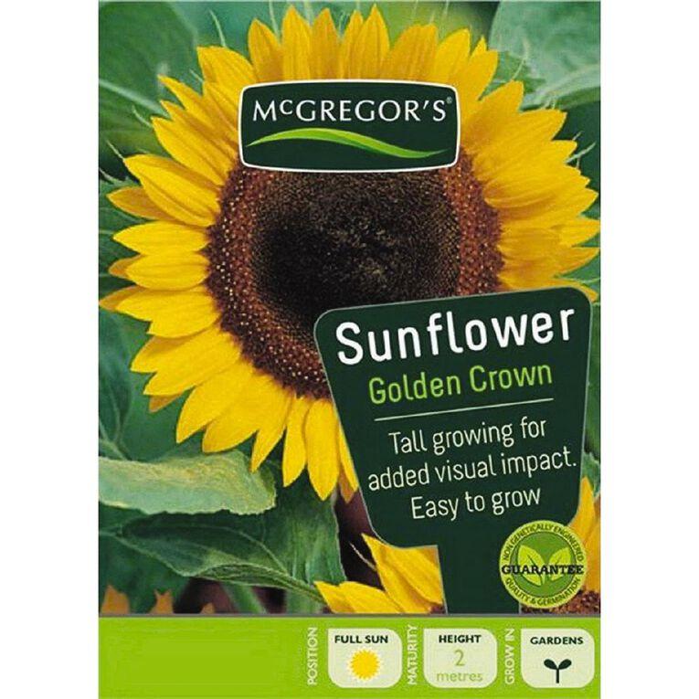 McGregor's Sunflower Golden Crown Seed, , hi-res