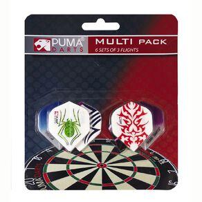 Puma Darts 6 Set Dart Flight Multipack